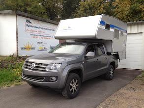 Photo: Diese 2013er Nordstar Camp Flex ist ab jetzt auf einem aufgelasteten 2013er VW Amarok unterwegs. Infos zur Nordstar Camp Flex finden Sie hier: http://www.nordstar.de/nordstar-modelle/camp-flex/index.html