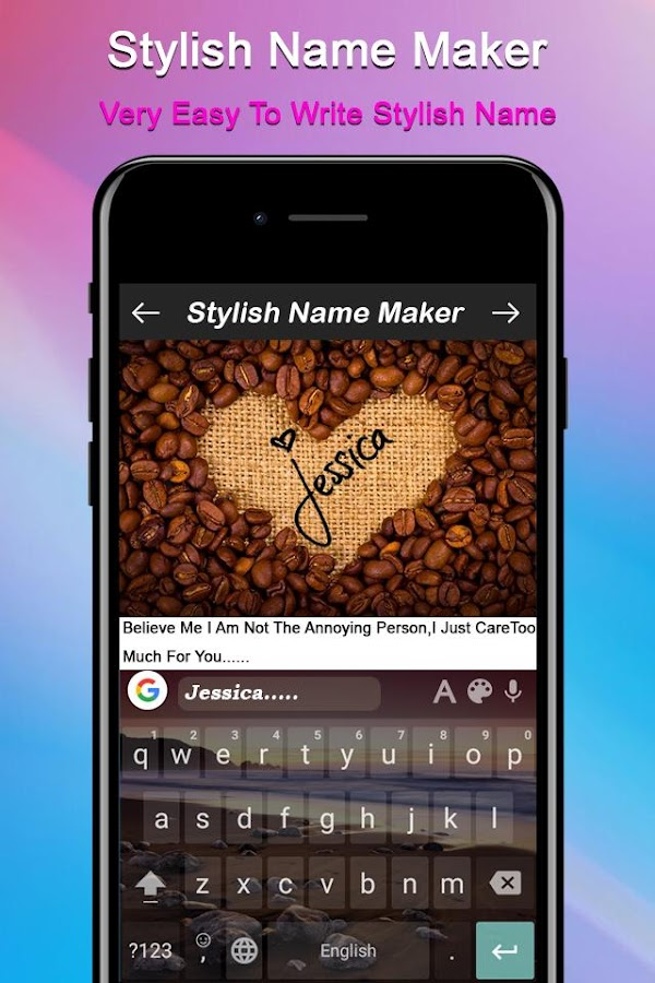 Stylish Name Maker: Name Art- screenshot