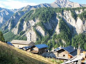 Photo: Saint -Véran : derde hoogst gelegen dorp in Europa