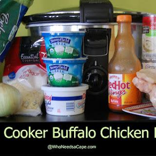 Slow Cooker Buffalo Chicken Pasta Recipe
