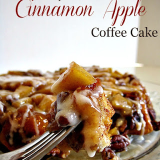 Upside-Down Cinnamon Apple Coffee Cake