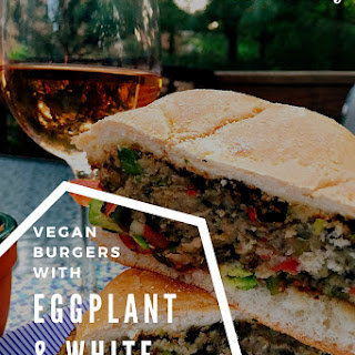 Eggplant & White Bean Burgers-Meatless Monday on The Grill.