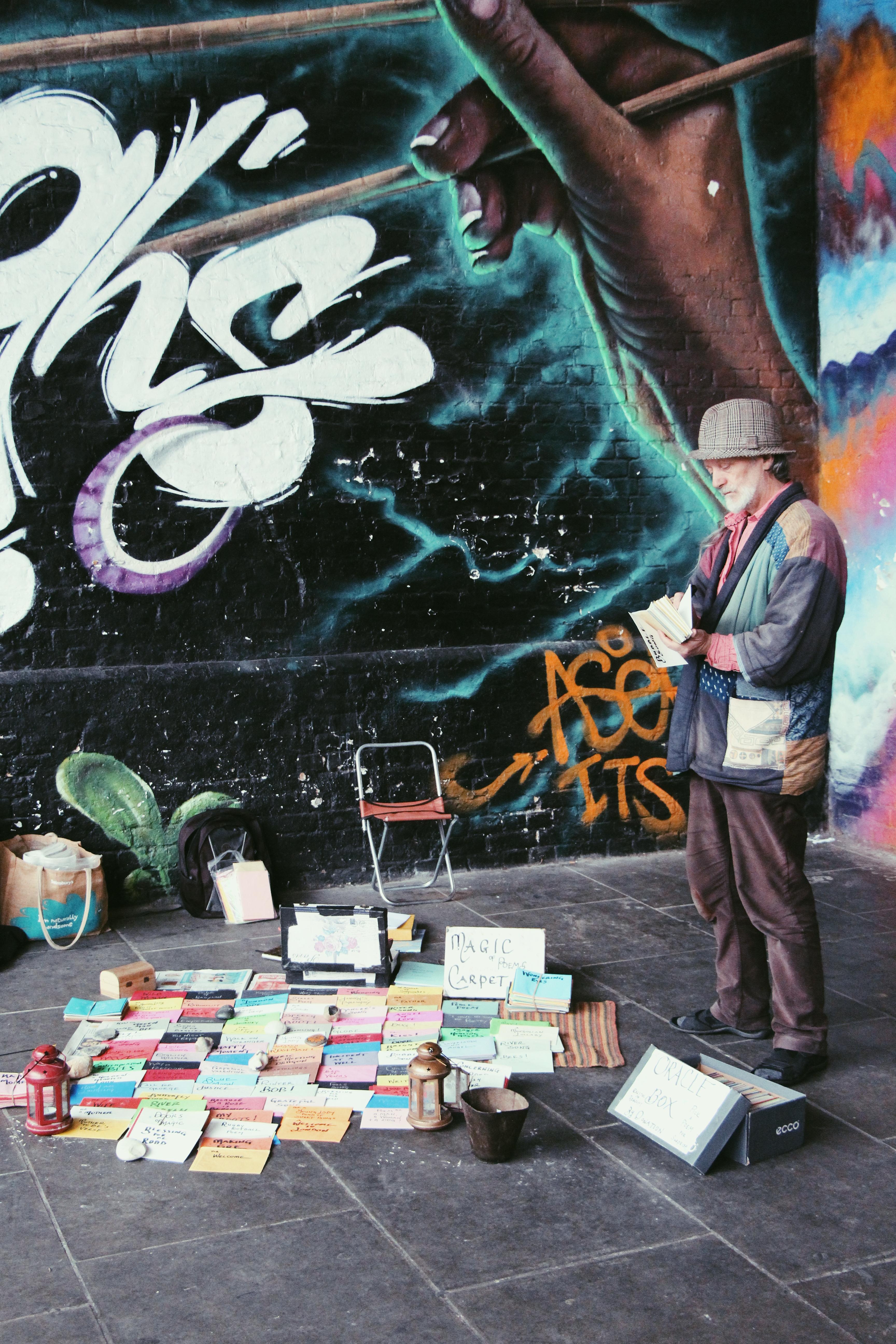 Londra, street artist