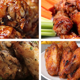 1. Baked Garlic Parmesan Chicken Wings Recipe