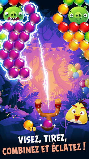 Angry Birds POP Bubble Shooter fond d'écran 2