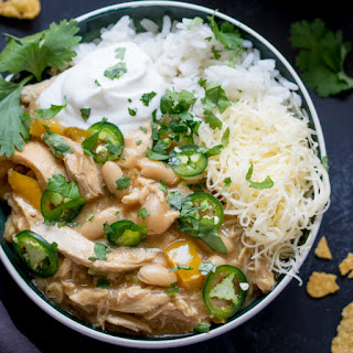 White Chilli Chicken - Con Carne Style!