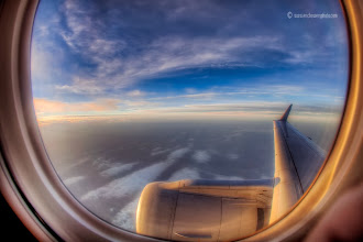 Photo: Just after takeoff on a flight on Sunday morning at dawn from Kansas City to Philadelphia, April 3, 2011.