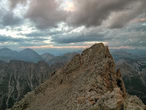 Photo: Baracca degli Alpini, północno-wschodnia grań Tofany di Dentro, włoskie Dolomity