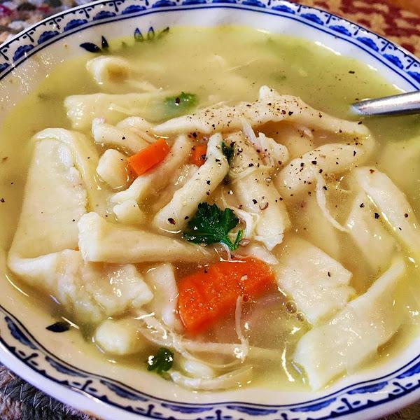 ~ Easy Noodles ~ Food Processor Recipe