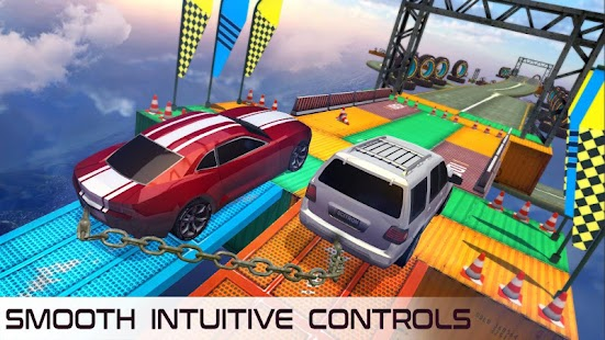 Download Impossible Flying Chained Car Games for PC and MAC