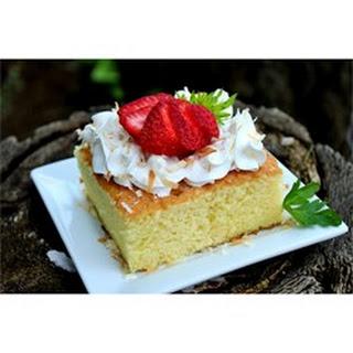 Pastel de Tres Leches (Three Milk Cake).