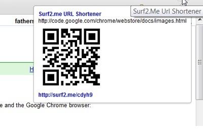 Surf2.me Url Shortener with QR code