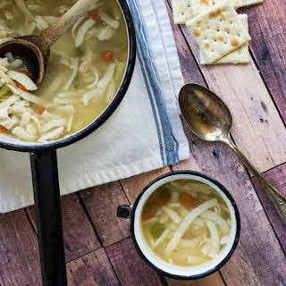 Easy Chicken Noodle Soup.