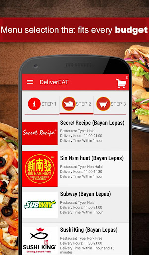 DeliverEat 2.15 screenshots 2