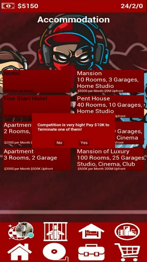 Rap City: Hiphop Career Simulator apktram screenshots 6