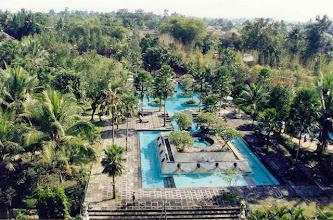 Photo: Piscine du Shératon de Yogjakarta à Java