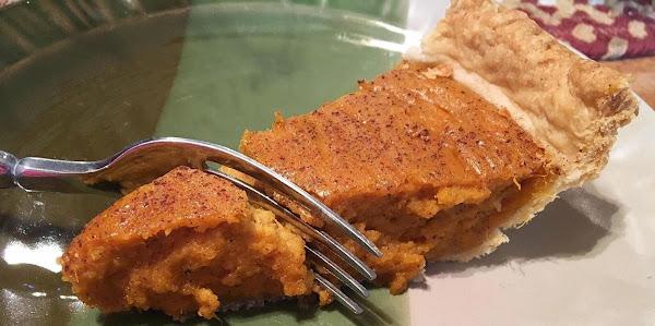 ~ My Anytime Sweet Tater Pie ~ Recipe