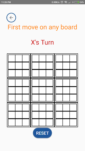 Meta TicTacToe 1.3 screenshots 2