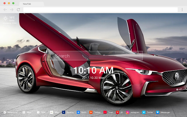 Buick Car New Tab Photography HD Theme