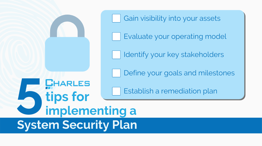 5 Tips For Implementing A System Security Plan For The DoD CMMC Framework