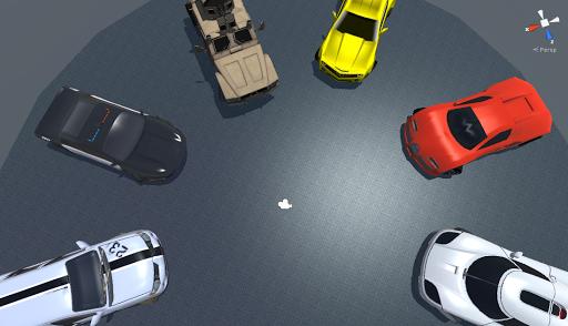 Cars driving simulator