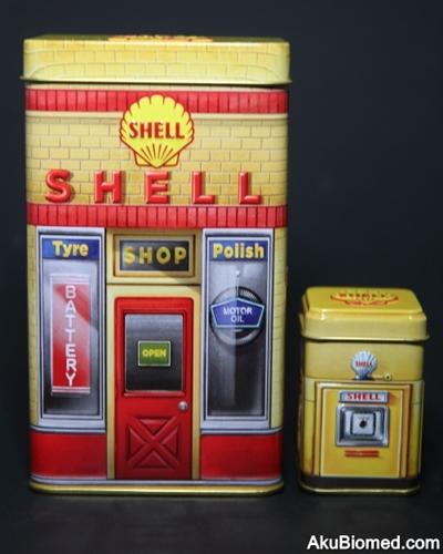 Stesen minyak Shell tahun 1950an