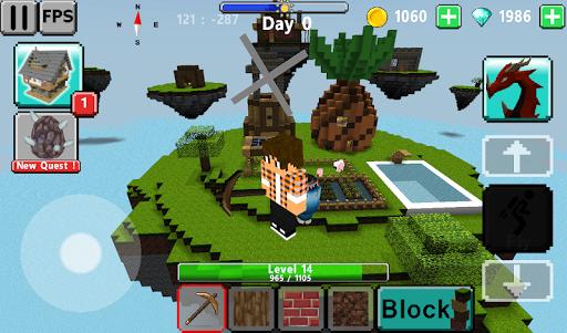 Tu00e9lu00e9charger Skyblock multiplayer APK MOD (Astuce) screenshots 4