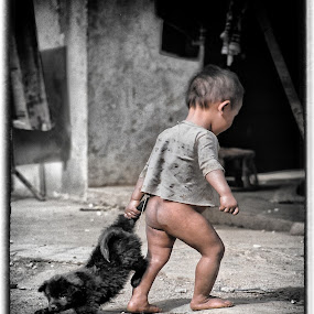 JUST WALKING THE DOG by CLINT HUDSON - News & Events World Events