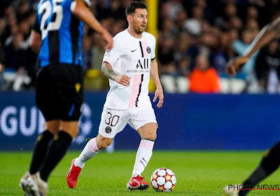 Lionel Messi devra battre Bruges au retour pour corriger une statistique étonnante