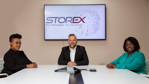 From Left: Cherel Moumakwe - Executive Director; Jan Beukes - Founder & CEO; Bongiwe Khoza - Non-executive Shareholder.