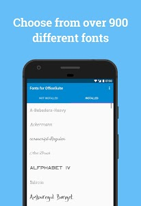 Font Pack for OfficeSuite 1 2 (Paid) APK for Android