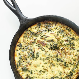 Bacon, Red Chard, and Ricotta Frittata [Recipe]