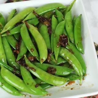 Balsamic Snap Peas