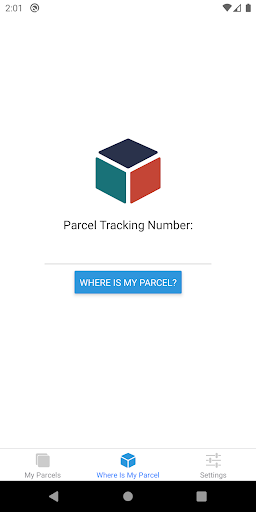 Where is My Parcel screenshot 1