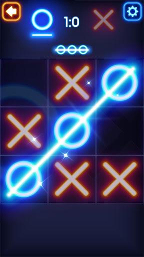 Glow Tic Tac Toe  captures d'écran 2