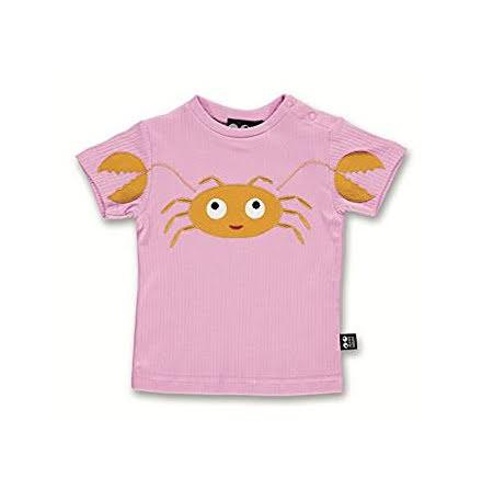 UBANG Baby Crab Tee SS  Pink