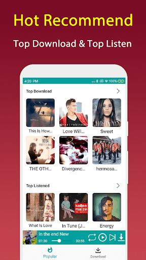 Free Mp3 Music Downloader screenshot 7