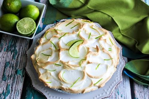 Fabulous Key Lime Pie With Meringue