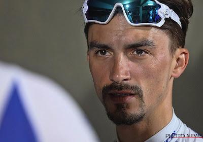 🎥 Alaphilippe leert Ronde van Vlaanderen kennen in gietende regen, verkenning Deceuninck-Quick.Step onderbroken