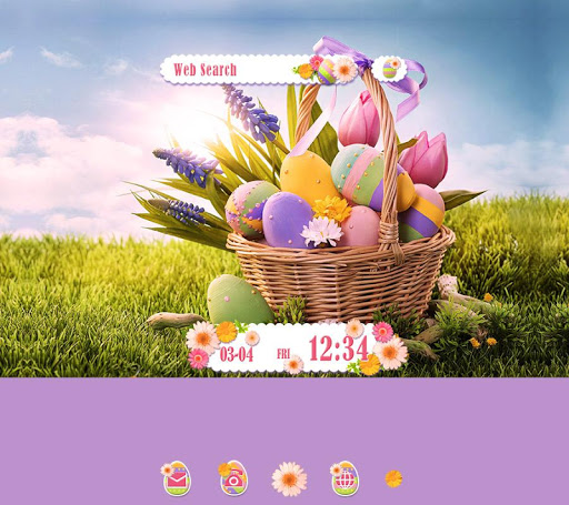 Cute Theme-Happy Easter -