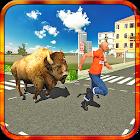 zangado 3D simulador de bison icon