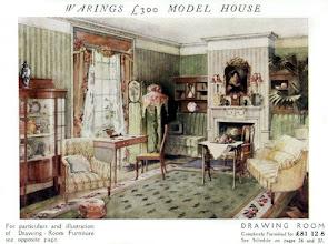 Photo: An Edwardian parlour, early 20th c.