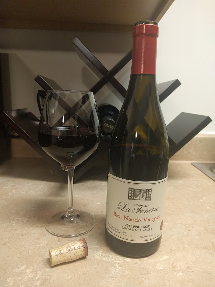 What 39 s in your glass tonight page 234 wine making for La fenetre pinot noir 2010