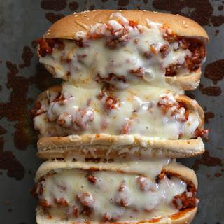 Lightened Up Grinder Sandwiches.