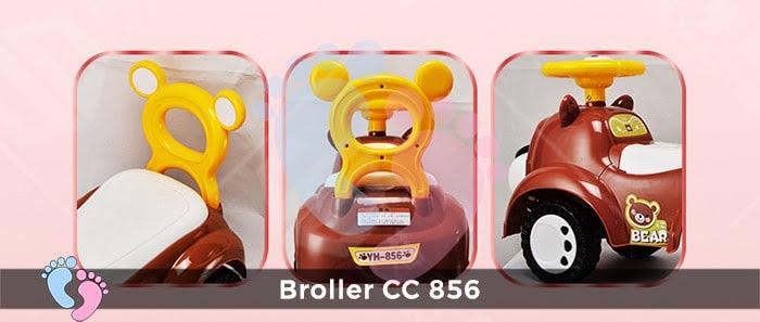 Xe chòi chân cho bé Broller CC-856 11