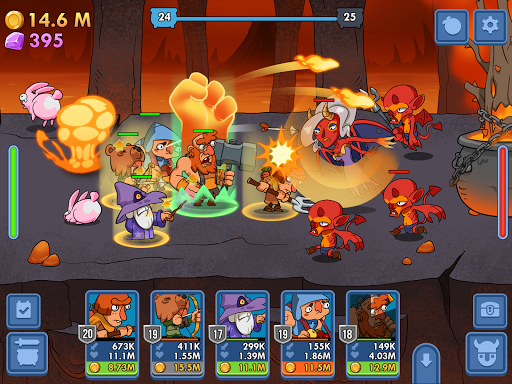 Semi Heroes: Idle & Clicker Adventure - RPG Tycoon  captures d'u00e9cran 7