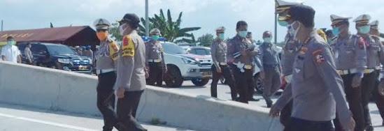 Cek Point Di Exit Tol Ngawi Jawa Timur
