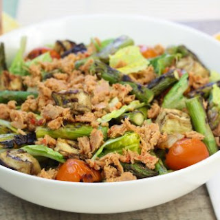 Chilled Grilled Veggie Tuna Salad.