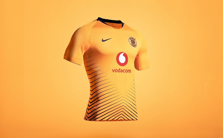 d7e2b50f5 Kaizer Chiefs jersey in demand globally after being voted as the ...