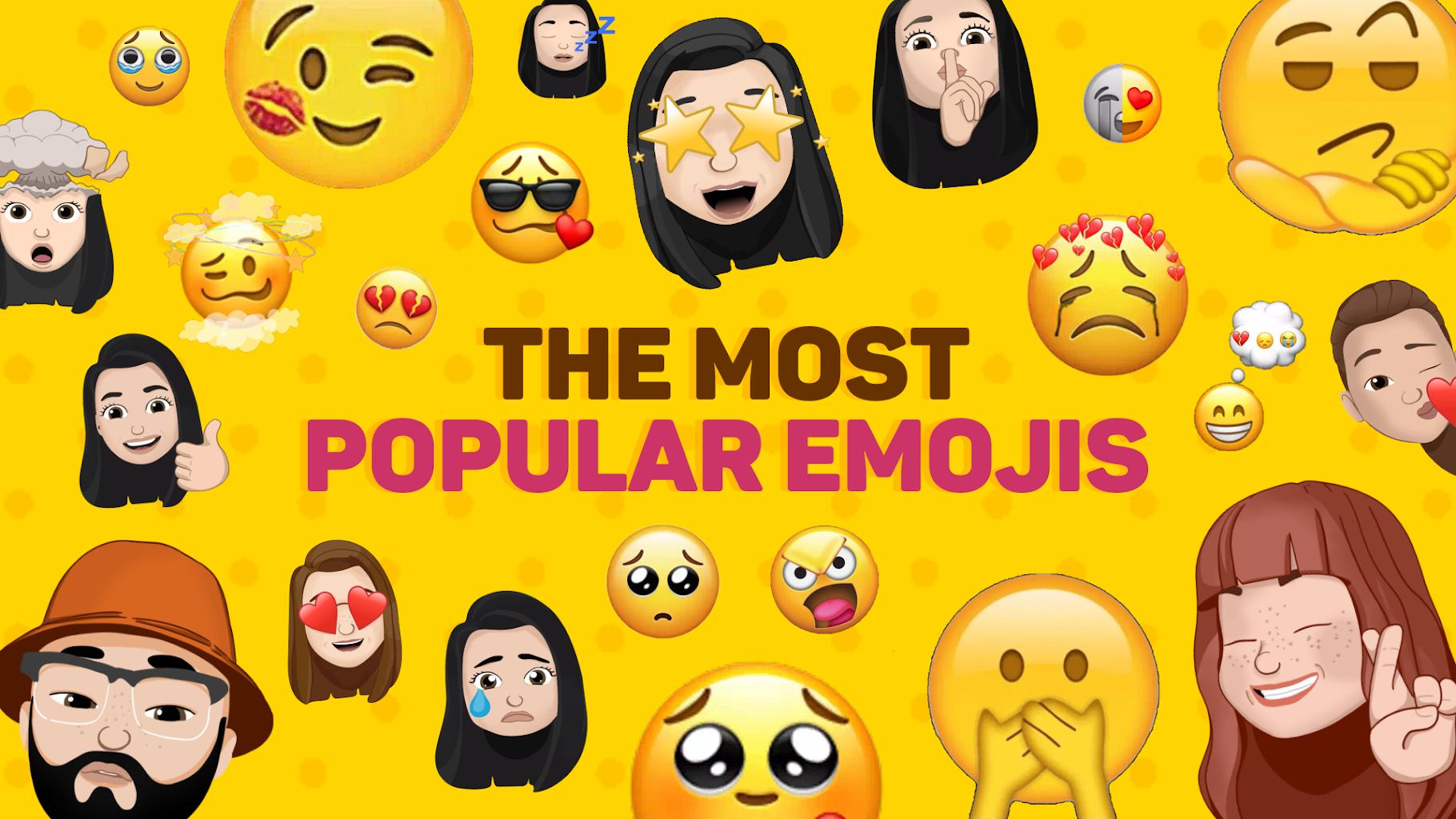 Yeni Komik Etiket Emoji Yi 3d Wastickerapps Android Icin Apk Indir